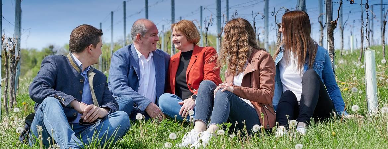 Familie Ulrich in St. Anna am Aigen